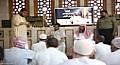 تخصيص موقع للمعتكفين من ذوي الاحتياجات بالمسجد النبوي