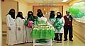 مستشفى الولادة والاطفال بمكة تشارك ابنائها المرضى فرحة اليوم الوطني
