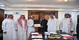 جمعية الأطفال المعوقين تحصل على تكريم مؤسسة الملك خالد في معيار تقنية المعلومات