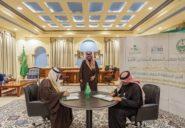 برعاية الأمير فيصل بن نواف.. مركز الجوف يوقع اتفاقية شراكة مع الشؤون الصحية