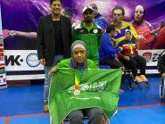 مريم المريسل تحقق أول ميدالية للوطن .. في لعبة الرياضة النسائية لكرة الطاولة