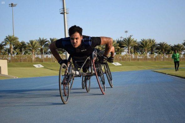 انطلاق أولى مراحل إعداد أخضر قوى الإعاقة لأولمبياد طوكيو 2020